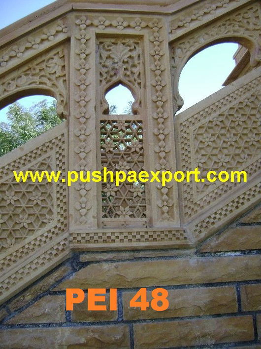 Sanstone Carving Wall Frame